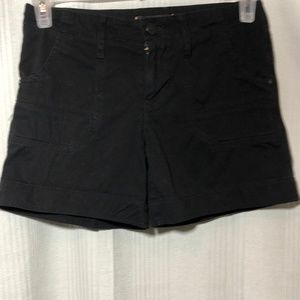 SANCTUARY CLOTHING SHORTS BLACK SIZE 25